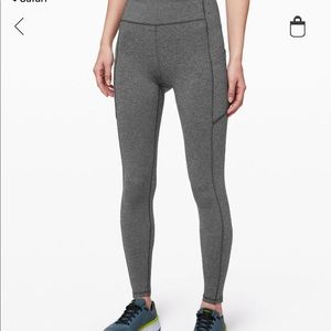 lululemon athletica Pants - Grey Lululemon Leggings